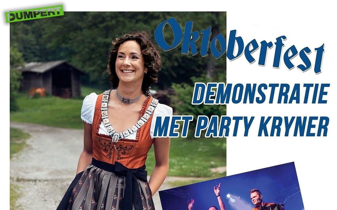 Oktoberfest Demonstratie trekt binnen 24 uur meer dan 150.000 bezoekers.